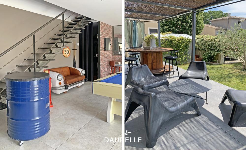 Villa avec 5 chambres piscine et jardin en vente à Eyragues